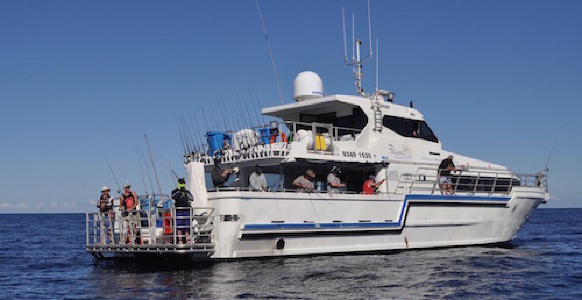 Fishing charters WA